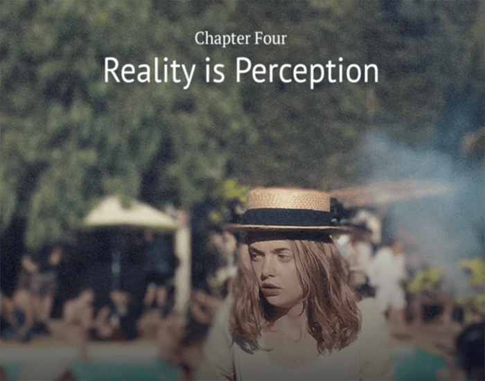 Chapter 04 – Reality is perception