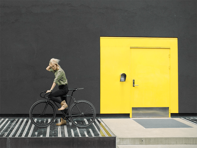 MobilePay – Sykkeljente